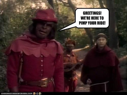 brent spiner medieval Michael Dorn Worf levar burton Geordi La Forge Star Trek pimp my ride - 6766675200