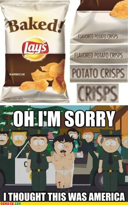 They Are Chips Cause 'Murica