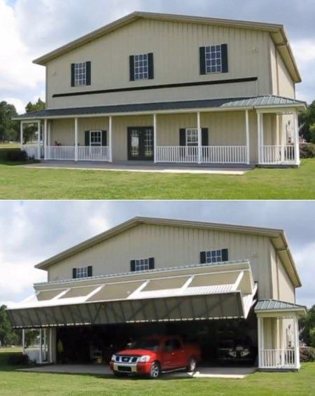 house car garage unexpected - 6766710784