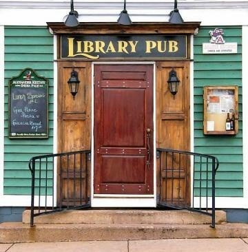 bars,mutually exclusive,library,pub