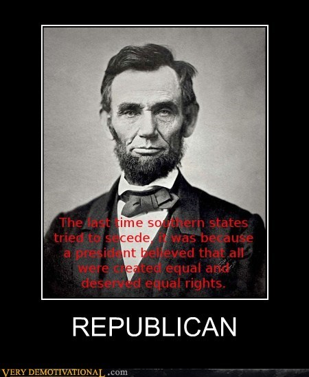 abraham lincoln,equality,republican