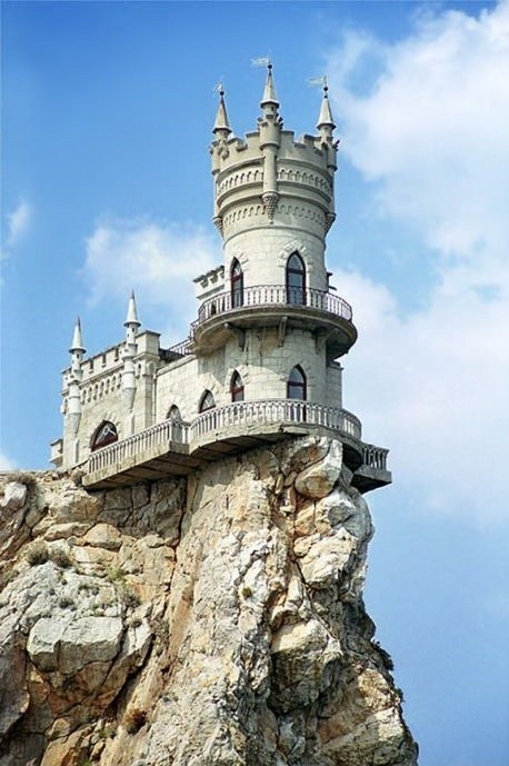 castle,cliff,unsafe