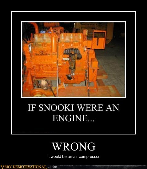 snooki air compressor wrong