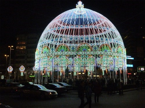 lights design LED dome pretty colors - 6767234560