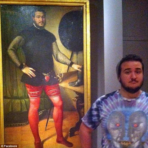 double totally looks like Doppelgänger portrait painting - 6767269632
