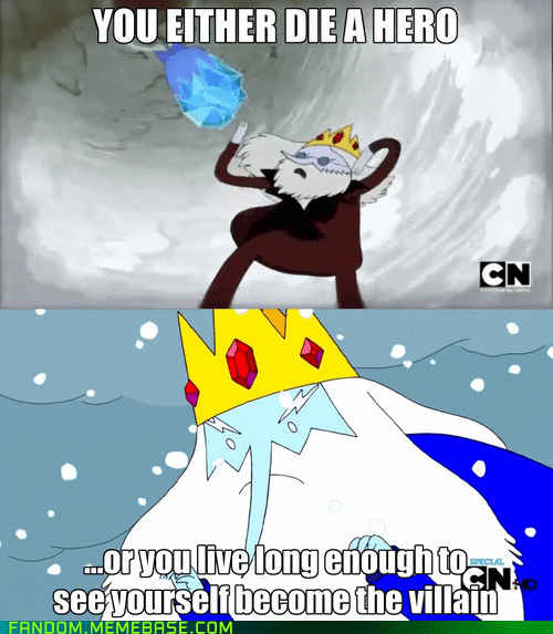 quotes,the dark knight,ice king,adventure time