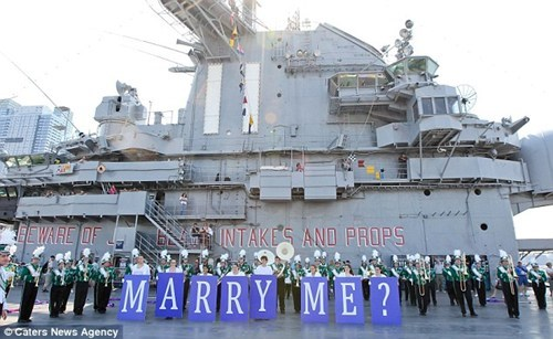 battleship,proposal,surprise,ship,boat