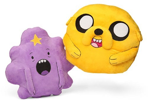 Jake snuggle Lumpy Space Princess pillows home adventure time - 6767381760