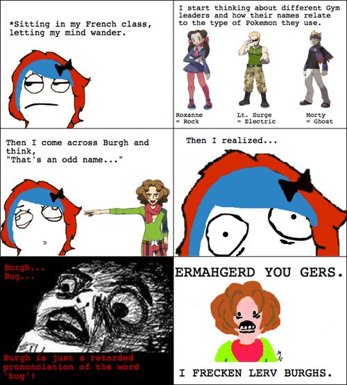 bugs Ermahgerd burghs rage comic derp - 6767469056