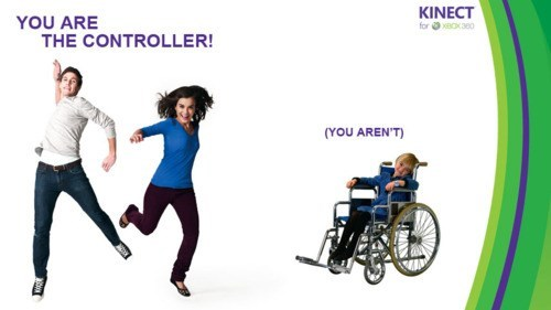 handicapped kinect wheelchair xbox - 6767544320