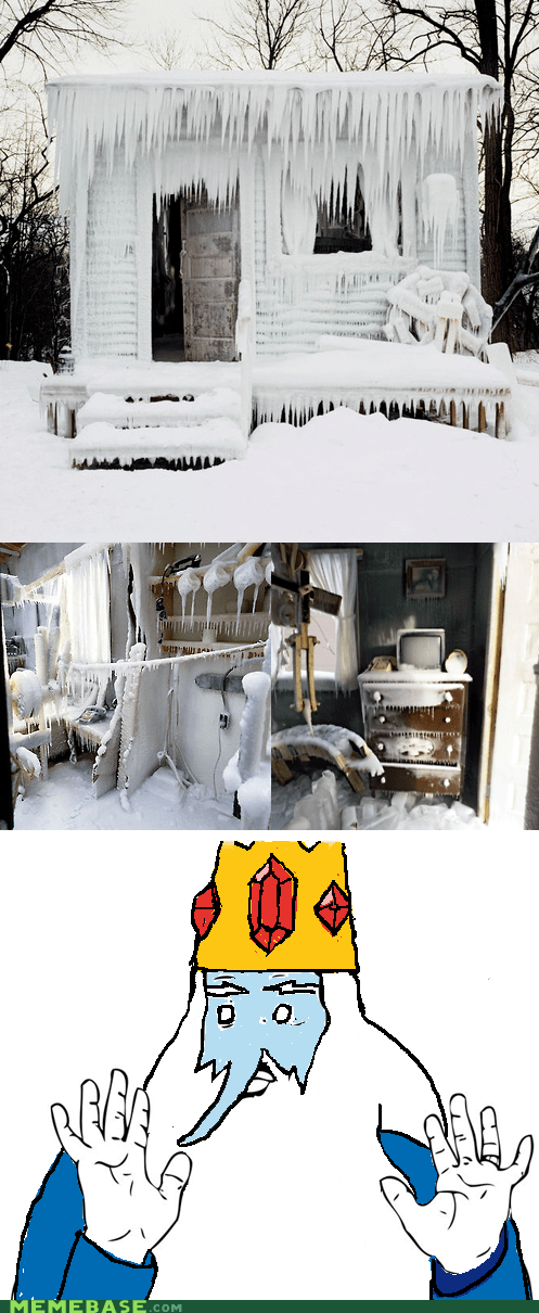 Badass house ice ice king adventure time - 6768531456