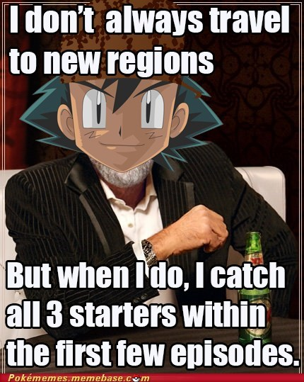 ash scumbag starters anime meme - 6768901632