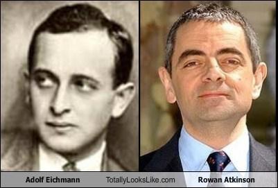 rowan atkinson,actor,TLL,celeb,adolf eichmann,funny