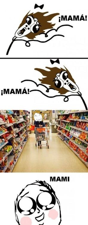 mom lost Rage Comics grocery store - 6769212160