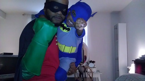 children costumes Batman and Robin - 6769234432