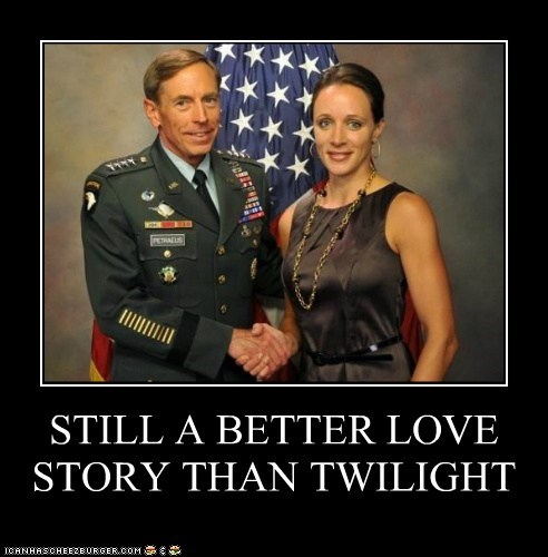 David Petraeus,paula broadwell,affair,still a better love story than twilight