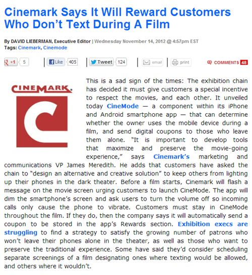 texting at the movies,deadline,movies,good behavior