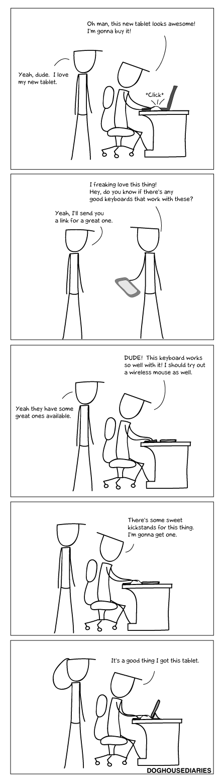 Webcomic computers microsoft surface ipad tablets comic - 6769404160
