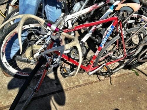 bicycle handlebars antlers redneck handlebars - 6769419776