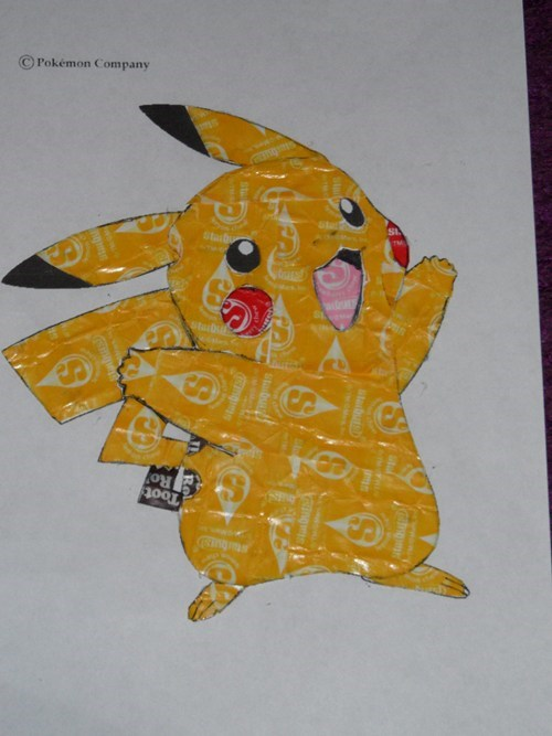 candy halloween leftovers starburst pikachu - 6769647104
