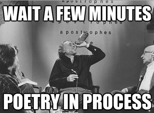 writers chugging poetry - 6769750016