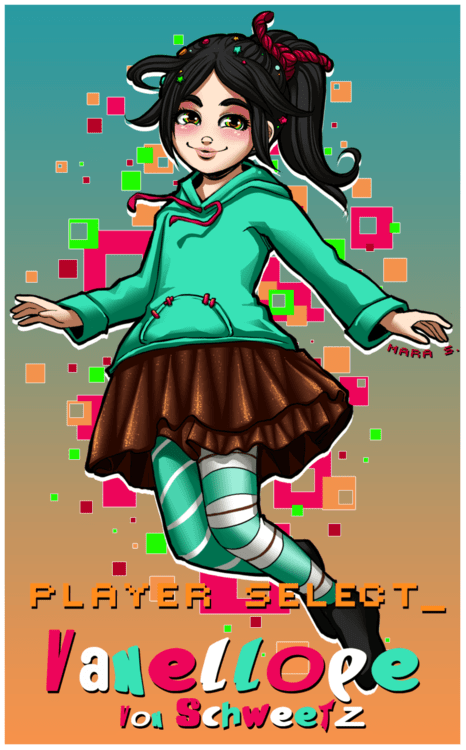 disney,movies,Fan Art,vanellope von schweetz,cartoons,wreck-it ralph