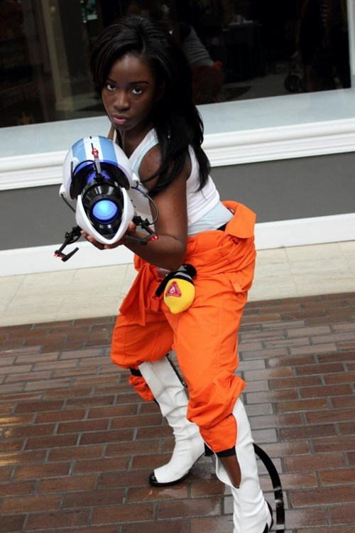 cosplay Portal video games chell