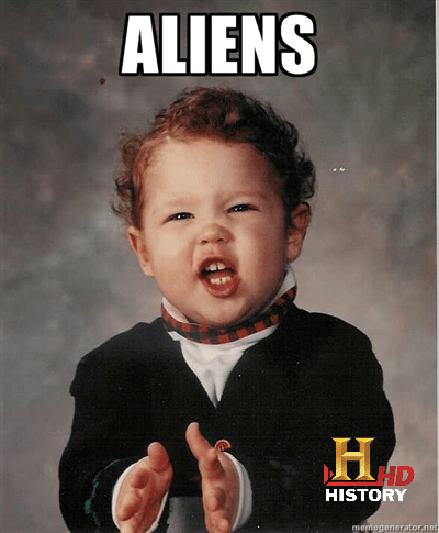 baby costumes,Aliens,history channel