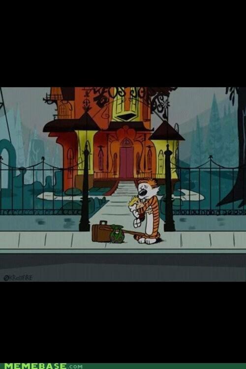 calvin and hobbes comics cartoons fosters-home - 6770226432