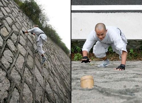 ninja climbing BAMF wall - 6770361088