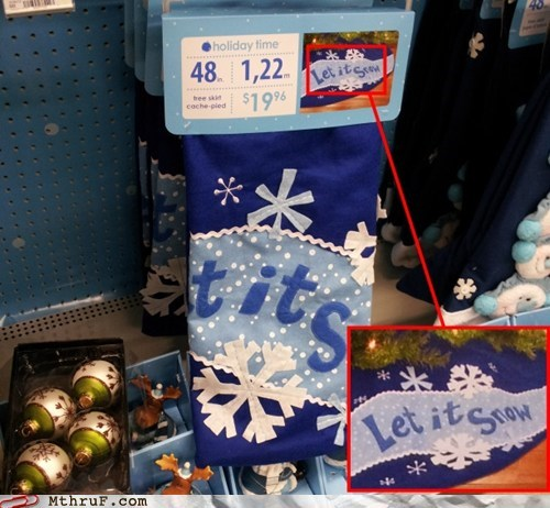 scarf,let it snow,marketing strategy