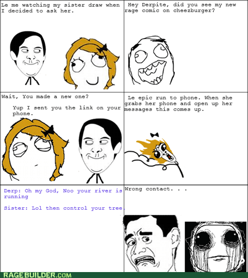 Wrong Contact Rage!