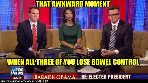 that awkward moment fox news re-election barack obama shocked - 6770675456