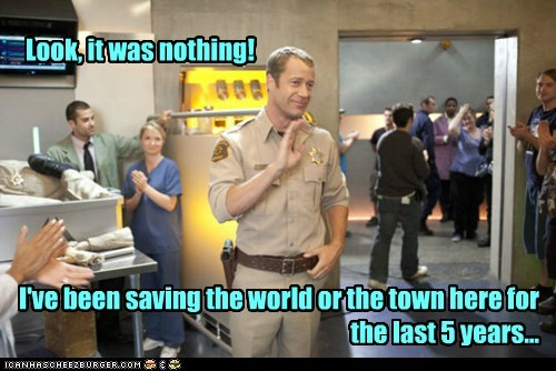 jack carter,saved the world,Colin Ferguson,eureka,nothing