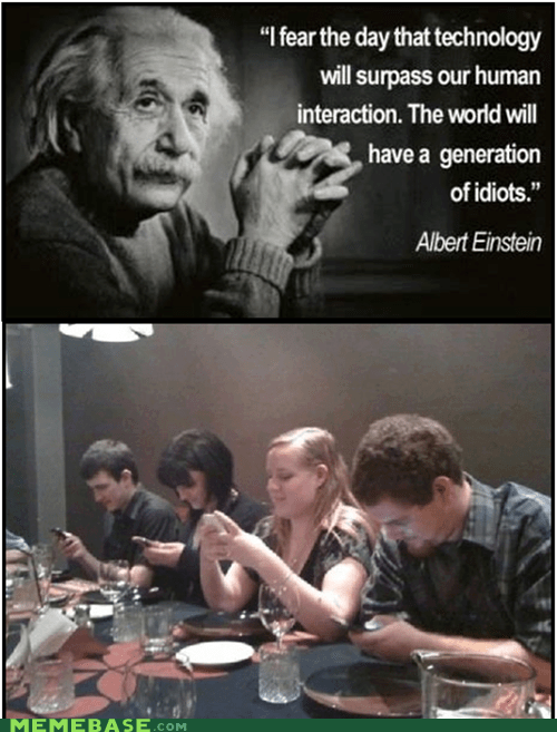 technology kids these days idiocracy dummies einstein - 6771850496