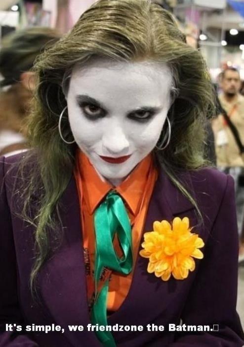 cosplay the joker batman - 6771978496