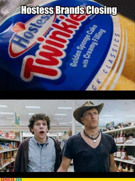 closing,twinkies,hostess,food,The End,Zombieland