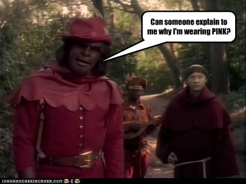brent spiner Michael Dorn Worf pink levar burton explain data Geordi Laforge klingon - 6772111616