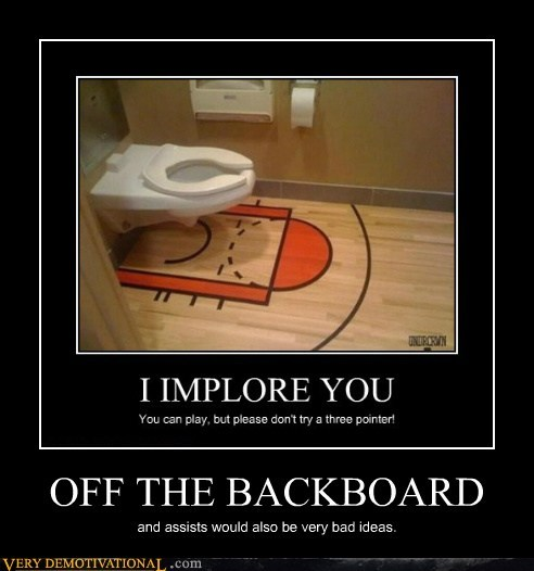 backboard,toilet,basketball