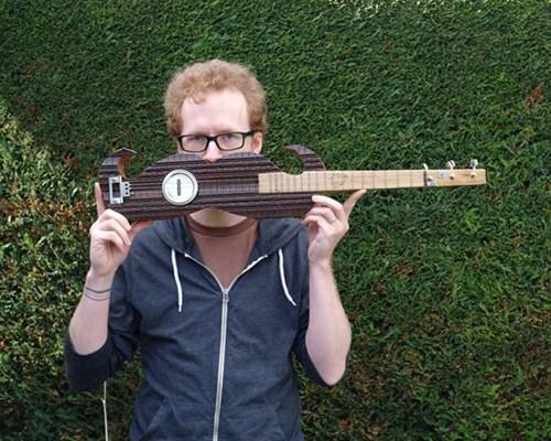 mustache,banjo