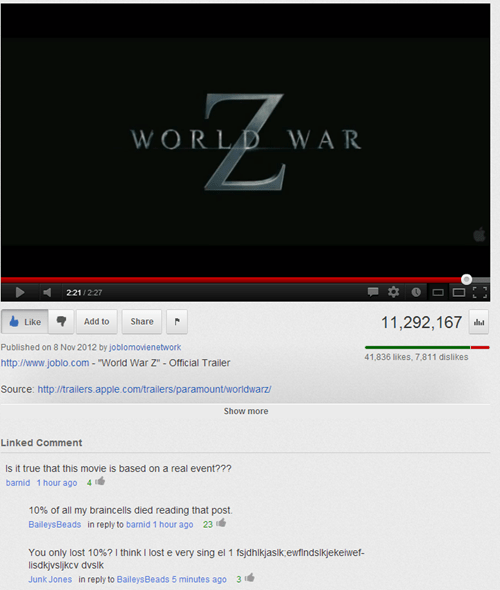 Failbook - world war z - Funny Facebook Fails - Failing On