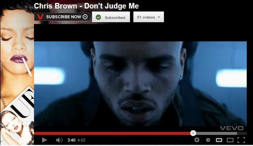 vevo youtube chris brown rihanna - 6772896000