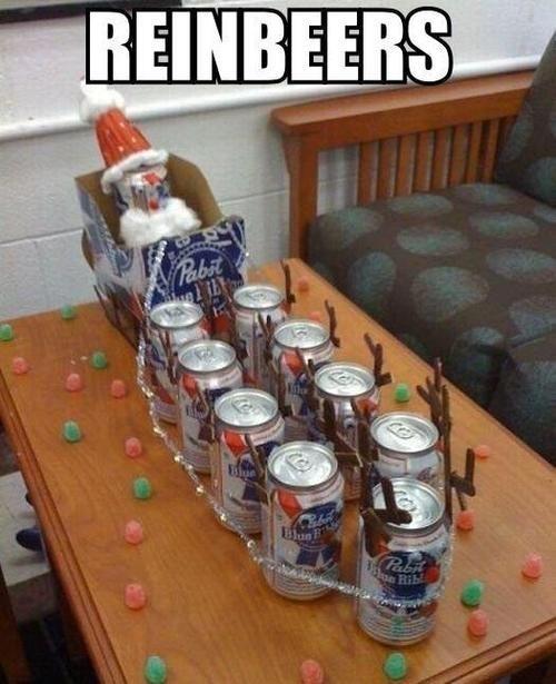 christmas reindeer pbr reinbeers holidays - 6772957440