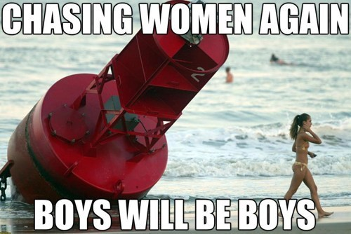 boys,buoys,similar sounding,perception