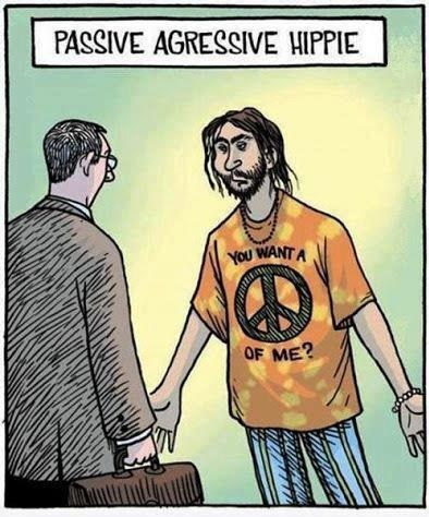 T.Shirt comic passive aggressive - 6772994048