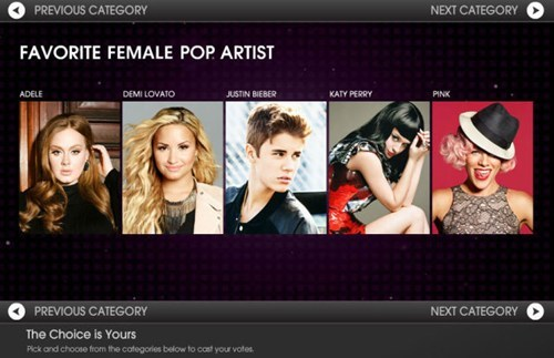 female pop artists,justin bieber