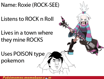 roxie,rock,gym leader,rocker