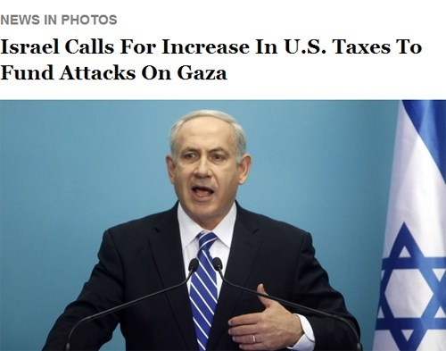 united states the onion taxes benjamin netanyahu attacks gaza