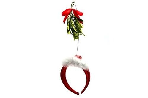 misteltoe christmas headband cheeky - 6773533440