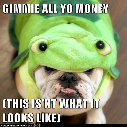 GIMMIE ALL YO MONEY  (THIS IS'NT WHAT IT LOOKS LIKE)